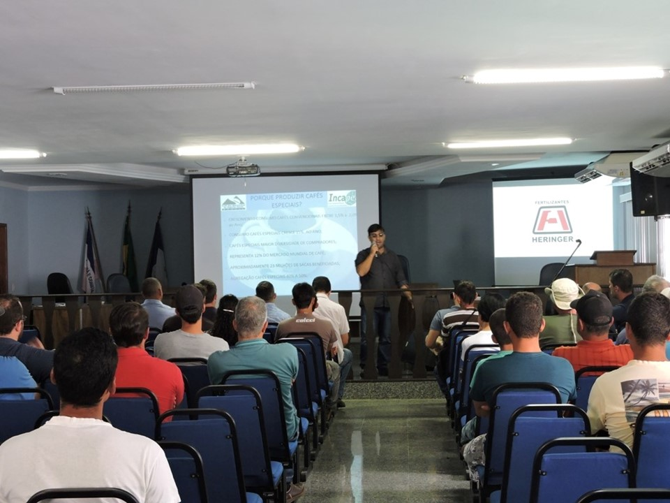 Muniz Freire recebe o 1º Seminário de Cafés Especiais